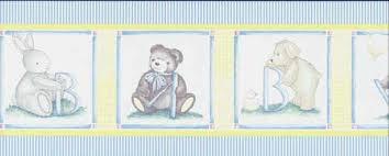 stuffed animal baby nursery wallpaper border sunworthy wallpaper
