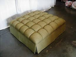 tufted cube storage ottoman u2014 home ideas collection to build