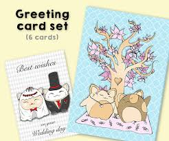wedding wishes japan greeting cards with cats postcards happy birthday maneki