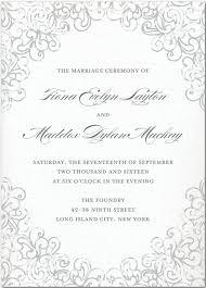 simple wedding programs exles unique wedding invitation wording all in one venue wedding