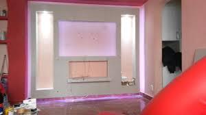 wohnzimmer fernsehwand wohnwand design rigips tesoley com