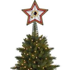 tree topper redskins treetopper