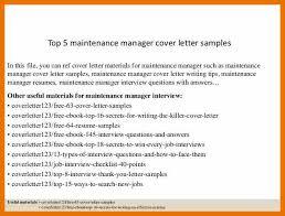 application letter for supervisor position sample 7 maintenance supervisor cover letter budget reporting
