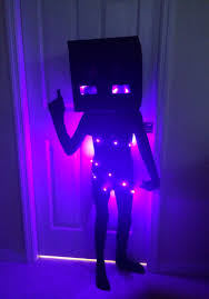 Minecraft Enderman Halloween Costume Jacks Minecraft Enderman Costume Halloween