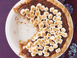 sweet potato pie with marshmallow topping recipe myrecipes