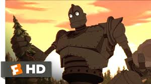 the iron giant the iron giant 2 10 movie clip rock and tree 1999 hd youtube