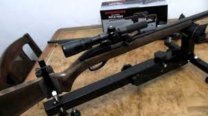 Bench Rest Shooting Rest Winchester Sharp Shooter Rifle Shooting Rest Youtube
