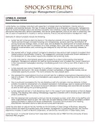 Business Consultant Resume Strategy Consultant Resume Sample Tercentenary Essays