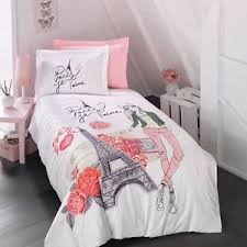 Childrens Duvet Cover Sets Paris Bedding Girls Duvet Cover Set Eiffel Tower Themed Single