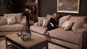 avalon large sofa set by fairmont designs youtube