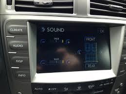 lexus ls 460 hidden menu audio not working no sound no volume control clublexus