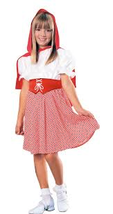 little red riding hood classic child girls halloween costume fancy