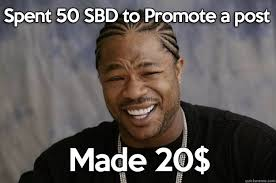 Meme Post - post promotion meme steemit