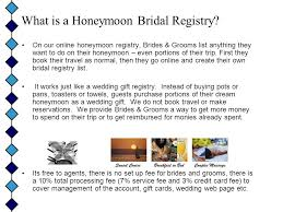 honeymoon bridal registry honeymoon registry for travel agents what is a honeymoon bridal