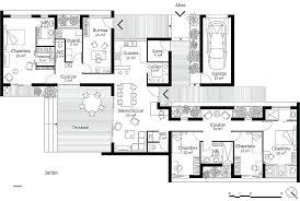 plans maison plain pied 4 chambres plan maison plain pied 120m2 plan 3 luxury plan plain pied 3