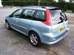 peugeot estate cars for sale peugeot 206 xsi 1 6 station wagon 5 dr estate for sale from shorts
