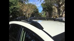 Subaru Forester 2014 Roof Rack by 2016 Subaru Crosstrek Roof Rack Aero Crossbar Install Youtube