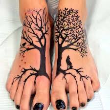 tree of on design of tattoosdesign of tattoos