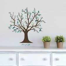 dcwv vinyl tree of life wall decal walmart com