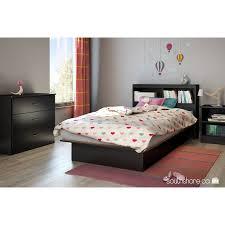Platform Bed Twin Black South Shore Smart Basics Twin Platform Bed 39 U0027 U0027 Multiple