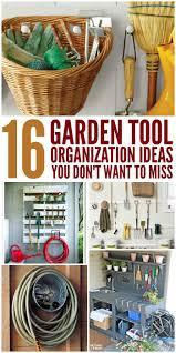 best 25 garden tool organization ideas on pinterest tool rack
