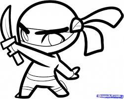 cartoon ninja drawings how to draw a ninja skull stepstep skulls