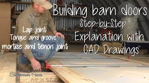 How To Install Barn Doors by How To Diy Barn Doors 2 Youtube