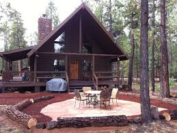 custom log cabin 1 2 acre backs to nation vrbo