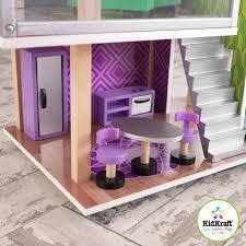 kidkraft modern country kitchen kidkraft modern living dollhouse 65822 walmart com