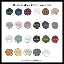 benjamin moore paint colors 2017 2017 color forecast for interior design home decor kristy