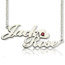 Personalized Name Plate Necklaces Custom Nameplate Necklace Cheap