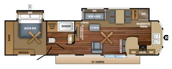 Jayco Jay Flight Floor Plans by 2018 Jay Flight Bungalow Travel Trailer Floorplans U0026 Prices