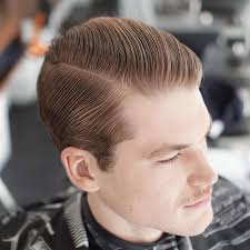men u0027s hairstyles slicked back hair with a fade slicked back