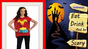 Halloween Costume Cape Dc Comics Woman Shirt Cape Headband
