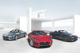 exotic cars lined up jaguar f type officially unveiled autoevolution