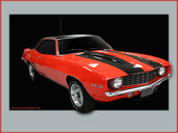 camaro wallpaper pictures 1969 orange z28 coupe 1024 12