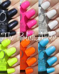 the polishaholic orly summer 2012 feel the vibe collection swatches