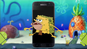 Make A Meme Mobile - how to make spongebob caveman meme on your phone for android youtube