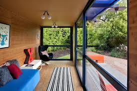 gallery of container guest house poteet architects 2