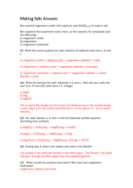 making salts and calculating yields worksheet by neeny468