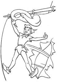 tinkerbell peter pan coloring pages embroidery