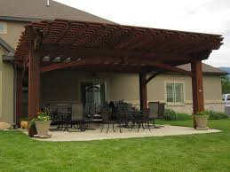 Solid Roof Pergola Kits by 33 Ideal Backyard Family Dining Rooms Western Timber Frame