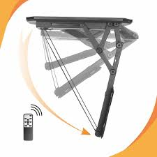 black friday tv mounts ceiling mounted tv bracket that swivels tilts telescopes and has
