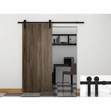 Interior Door Hardware Minimalist Wood Material In Modern Sliding Door Design With