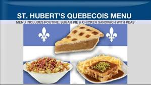 cuisine st hubert from poutine to sugar pie why cara couldn t resist st hubert