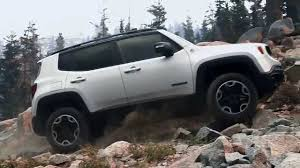 white jeep renegade 2015 jeep renegade tales of the trailhawk off the map youtube