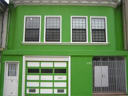 green colour home collection with exterior house colors design