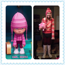 thrift shop halloween costume edith from despicable me daily