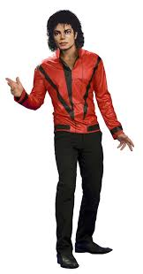amazon com michael jackson red thriller jacket small toys