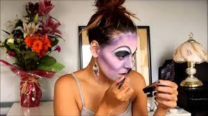 disney villains ursula halloween makeup tutorial youtube